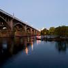 Gervais Street Bridge at Dusk<br /> <br /> © Sparkle Clark