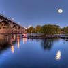 Gervais Street Bridge at Dusk in HDR<br /> <br /> © Sparkle Clark