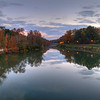 Sundown at the Riverfront Park Columbia Canal in HDR<br /> © Sparkle Clark