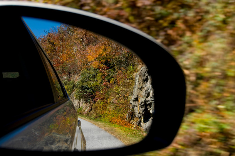 The side view of the Blue Ridge Parkway<br /> © Sparkle Clark
