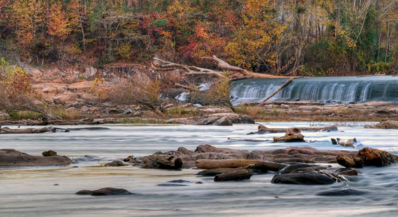 The Diversion Dam Far End at Dusk in HDR<br /> © Sparkle Clark