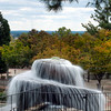 Finlay Park fountain, HDR, posterized<br /> © Sparkle Clark