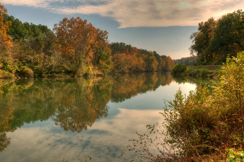 Riverfront Park Canal at North End in HDR II again<br /> © Sparkle Clark