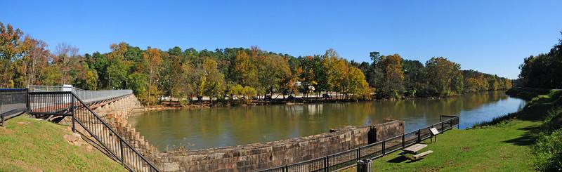 Historic Columbia Canal Locks at Riverfront Park, Columbia, SC<br /> © Sparkle Clark