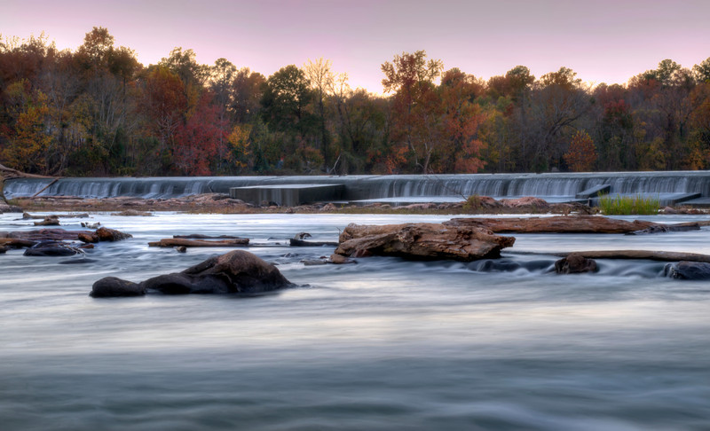 The Diversion Dam at Dusk in HDR<br /> © Sparkle Clark
