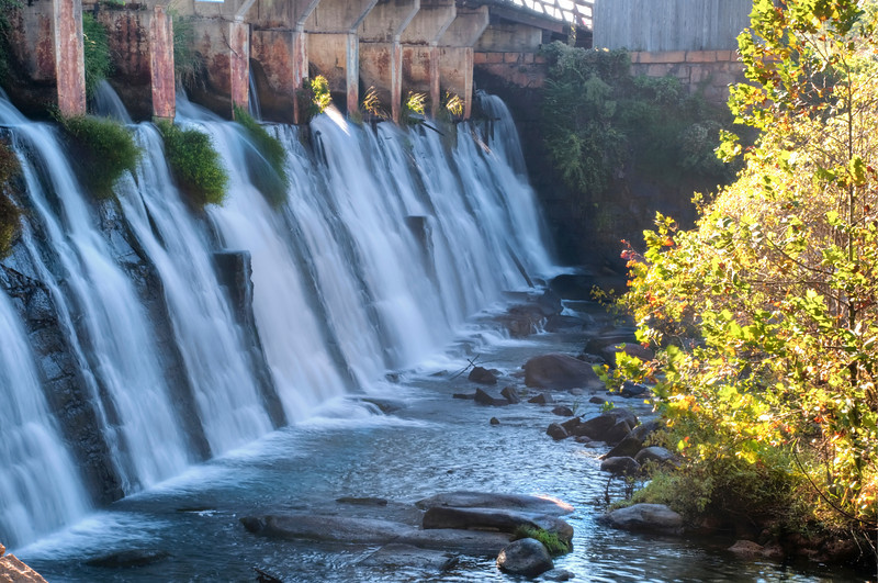 Spillway in morning's light<br /> © Sparkle Clark