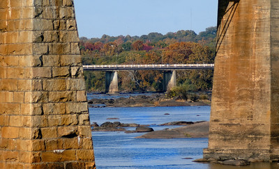 Autumn at the River Cayce Riverwalk...so technically not Riverfront Park  © Sparkle Clark