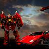 red transformer