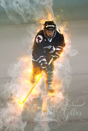 burning up the ice
