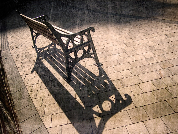 Photographic artistic representation of a park bench. All images are available to view in Hi-res or purchase under specific licence agreements from http://corephotographygibraltar.com/gallery/Fine-Art-Images/G0000rx7jQQgo3QQ/C0000mU4dcohCnHY