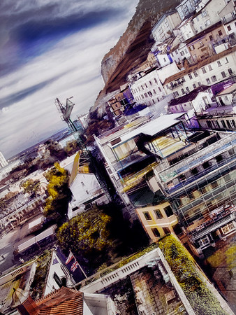 northern city centre photo art