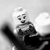 series of images depciting lego people.