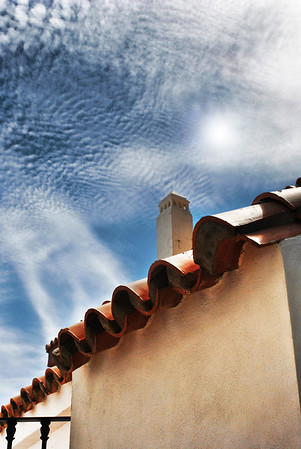 Rooftops at Caleta - Architecture and structures from Gibraltar and Spain
