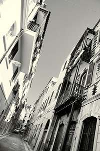 Turnbulls Lane, Gibraltar. Architecture and structures from Gibraltar and Spain