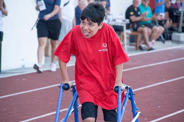 Special Olympics Gibraltar is a very special day of sports for many young members of the community participating.