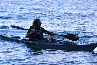 Paddling from Tangier to Gibraltar for charity