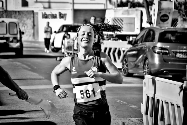 Expressions of runners by Stephen Ignacio