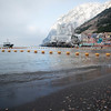 Gibraltar, 22nd July 2014  - A view of Catalan Bay from the shoreline after the prevention nets had been put in place.