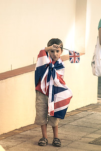 A collection of images taken by Stephen Ignacio during the 2012 Royal Visit to the Rock of Gibraltar by Prince Edward. The images document the visit, reactions and reception received by the Royals during their three day visit to the British Overseas territory. The unseen images were taken focusing on the people and the scenes around the visit rather than as a means to capture images of the Royals.