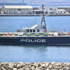 Gibraltar police launches at marine base