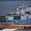 RFA Mount Bay arrives in Gibraltar for maintenance