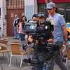 Gibraltar Asian TV crew record in Gib