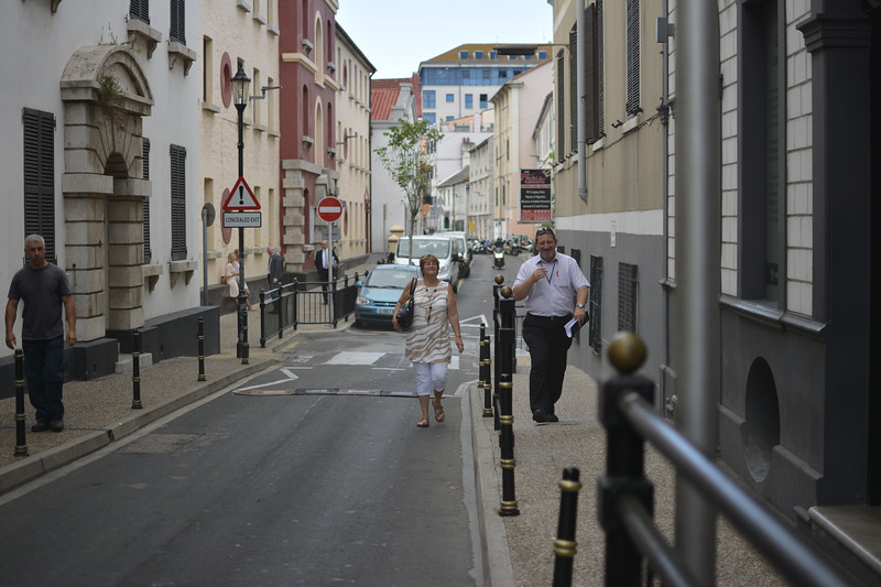 Gibraltar - Man pleads guilty for breach of peace after unfurling Spanish flag