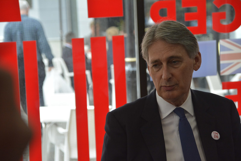 Philip Anthony Hammond MP - Chancellor of the Exchequer