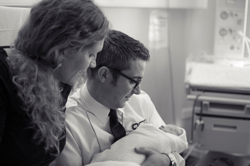 Birth of Alexandros Mesa Minter on the 3rd February 2014 to Tanya and Carlos.