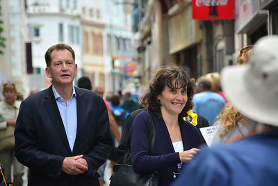 Liberal South West region European Election candidate Graham Watson, campaigned through Main Street in Gibraltar today for the local UEropean election vote. The Liberal MEP was supported by local pressure groups as well as local Liberal party members. All Images available for purchase from http://corephotographygibraltar.com News-Stock Collection as Hi-Res digital downloads and prints for both Editorial and Personal Use. Or contact stephen.ignacio@core-photos.com for further details on how to obtain.