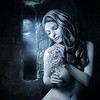 """Model - :iconalmudena-stock: <a href=""""http://almudena-stock.deviantart.com/gallery/2765216#/d20945bMoon"""">http://almudena-stock.deviantart.com/gallery/2765216#/d20945bMoon</a> Background - :iconwyldraven: <a href=""""http://wyldraven.deviantart.com/gallery/11372260#/d2frhca"""">http://wyldraven.deviantart.com/gallery/11372260#/d2frhca</a><br /> Castle window background - my own stock<br /> Hair - painted myself"""