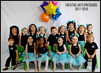 Creative Arts Preschool 2017-2018 Photoshoot