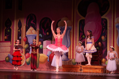 Janice as Clara in The Nutcracker-12