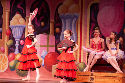 Janice as Clara in The Nutcracker-23