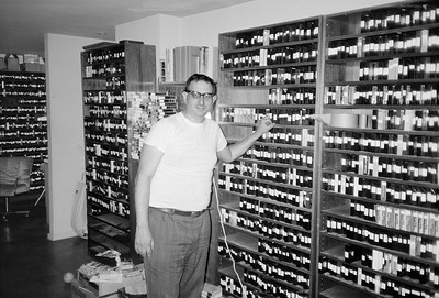 Bill Caits and his Adult Video Collection, 1989 - 1 of 6