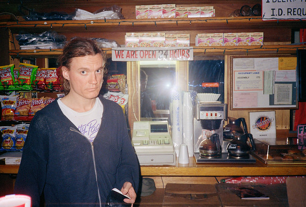 Robert Carrithers at Hollywood Billiards, 1991
