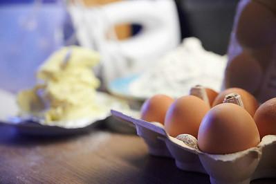 Eier und Butter