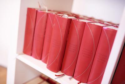 Rote Evangelische Gesangbücher