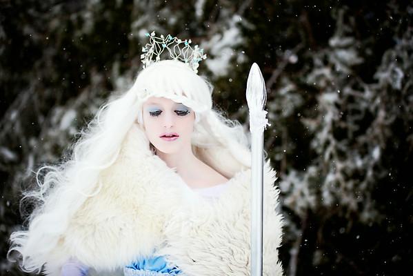 Snow Queen Creative Portraits
