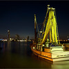 Night Fishing Trawler