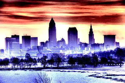 Cleveland Edgewater Sunrise 2013 088_89_90_tonemapped