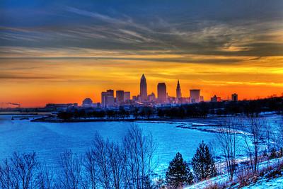 Cleveland Edgewater Sunrise 2013 130_1_2_tonemapped