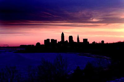 Cleveland Edgewater Sunrise 2013 124_5_6_tonemapped