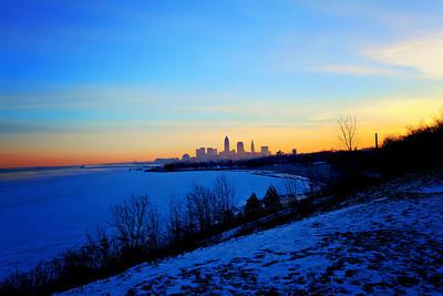 Cleveland Edgewater Sunrise 2013 146_7_8_tonemapped