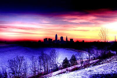 Cleveland Edgewater Sunrise 2013 064_5_6_tonemapped