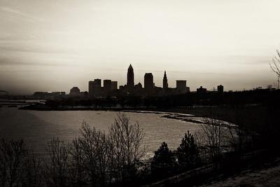Cleveland Edgewater Sunrise 2013 082_3_4_tonemapped