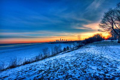 Cleveland Edgewater Sunrise 2013 152_3_4_tonemapped