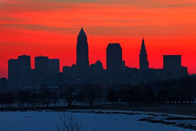 Cleveland Edgewater Sunrise 2013 094_5_6_tonemapped