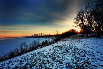 Cleveland Edgewater Sunrise 2013 163_4_5_fused