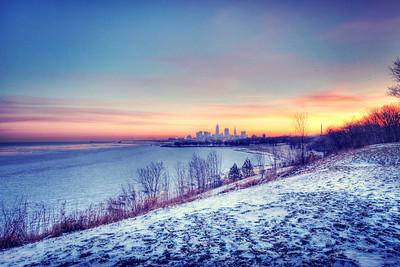 Cleveland Edgewater Sunrise 2013 039_40_41_tonemapped